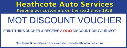 MOT discount voucher
